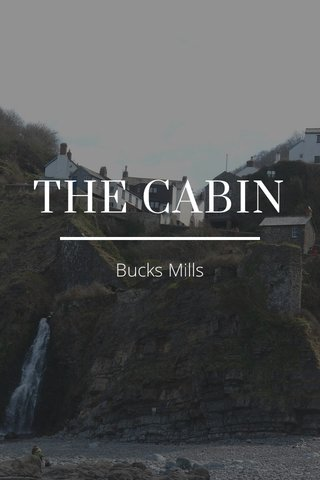 THE CABIN Bucks Mills