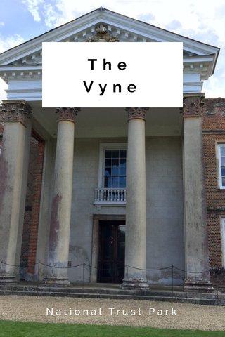 The Vyne National Trust Park