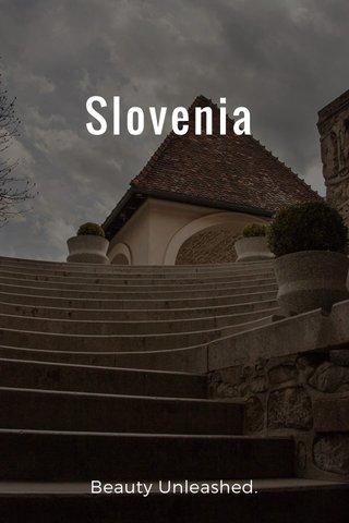 Slovenia Beauty Unleashed.