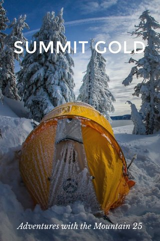 SUMMIT GOLD Adventures with the Mountain 25