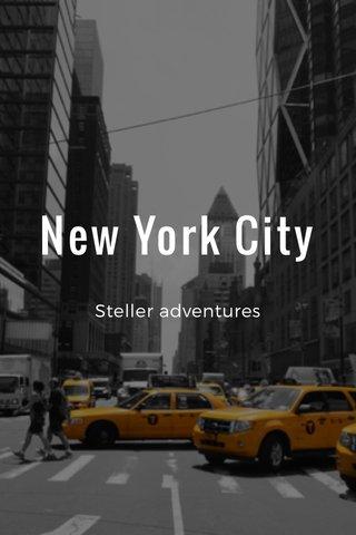 New York City Steller adventures