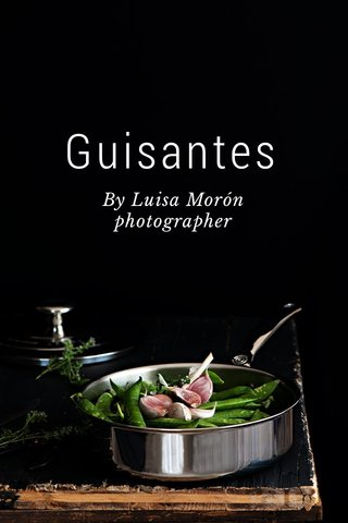 Guisantes By Luisa Morón photographer