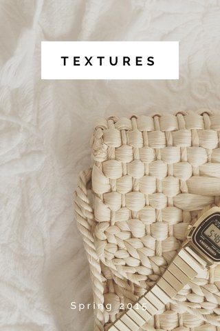 TEXTURES Spring 2015