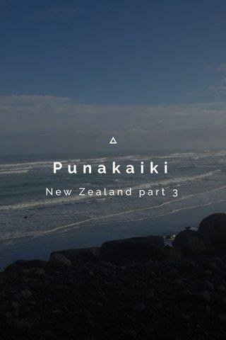 Punakaiki New Zealand part 3
