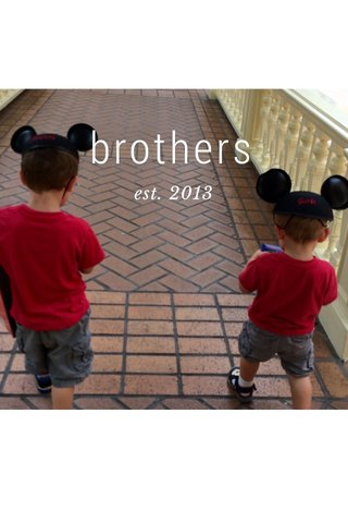brothers est. 2013