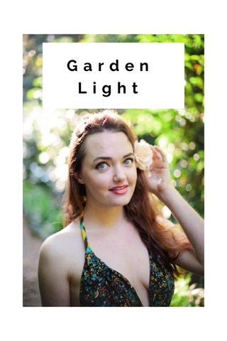 Garden Light SUBTITLE