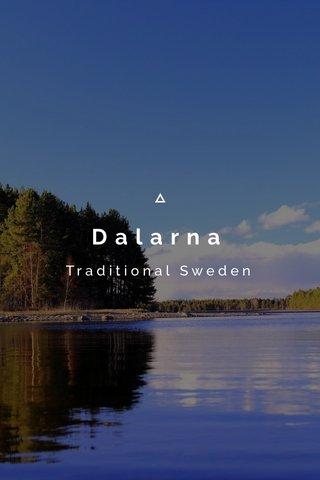 Dalarna Traditional Sweden