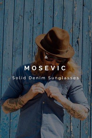 MOSEVIC Solid Denim Sunglasses