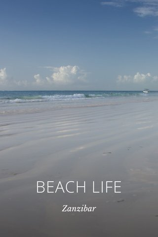 BEACH LIFE Zanzibar