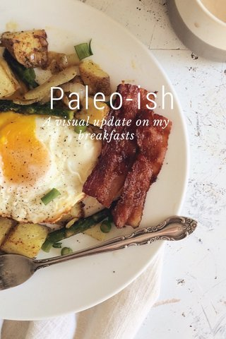 Paleo-ish A visual update on my breakfasts