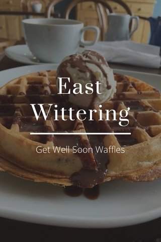 East Wittering Get Well Soon Waffles