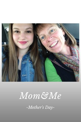 Mom&Me -Mother's Day-