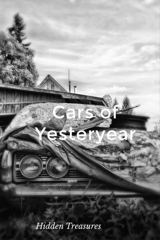 Cars of Yesteryear Hidden Treasures