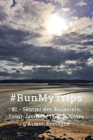 #RunMyTrips #1 - Sentier des douaniers, Saint-Jacut-de-la-mer, Côtes d'Armor, Bretagne