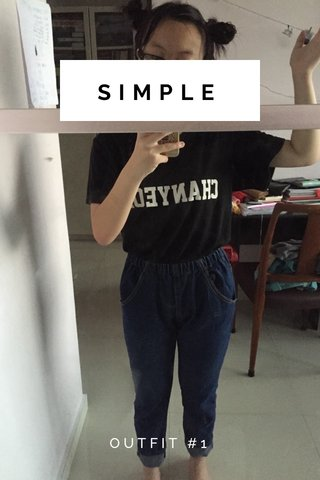 SIMPLE OUTFIT #1