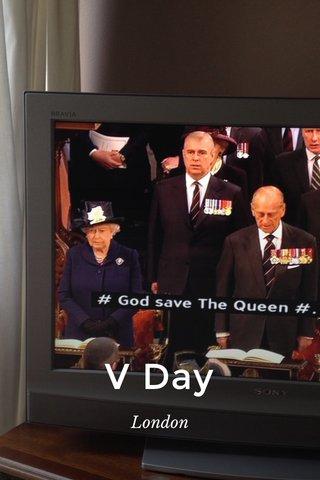 V Day London