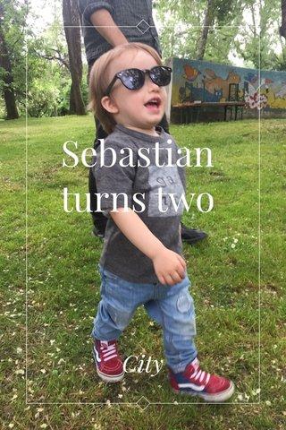 Sebastian turns two City
