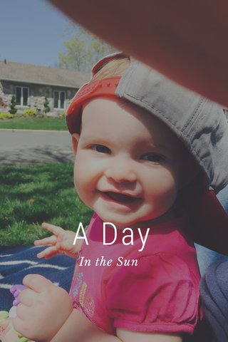 A Day In the Sun