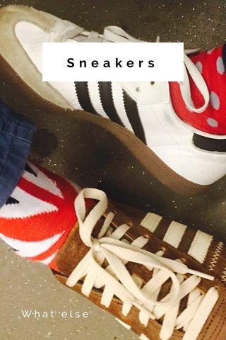Sneakers What else