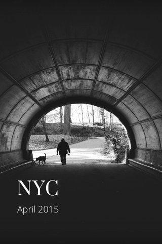 NYC April 2015