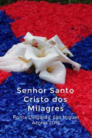 Senhor Santo Cristo dos Milagres Ponta Delgarda, São Miguel Azores 2015
