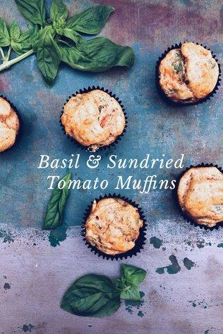 Basil & Sundried Tomato Muffins