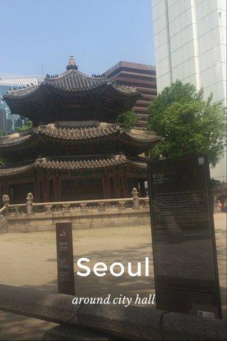 Seoul around city hall