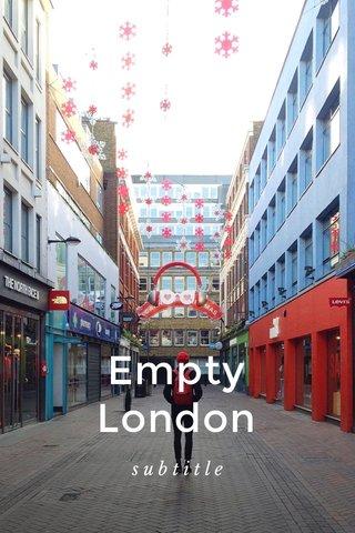 Empty London subtitle