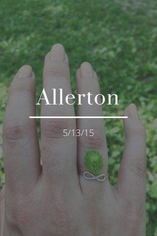 Allerton 5/13/15