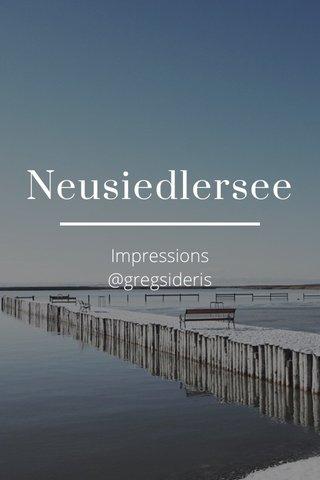 Neusiedlersee Impressions @gregsideris