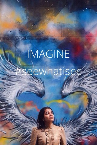 IMAGINE #seewhatisee