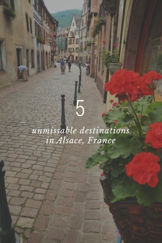 5 unmissable destinations in Alsace, France