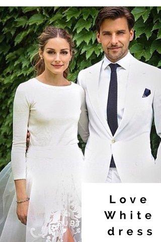 Love White dress SUBTITLE