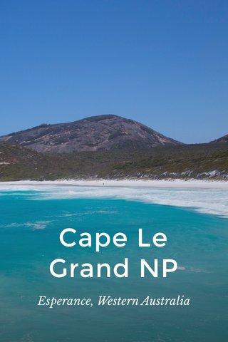 Cape Le Grand NP Esperance, Western Australia
