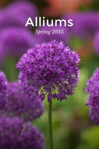 Alliums Spring 2015