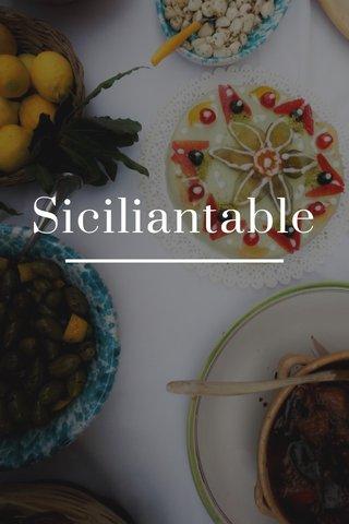 Siciliantable
