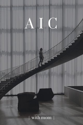 AIC   with mom  