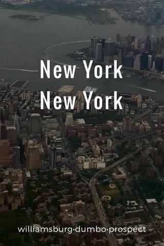 New York New York williamsburg•dumbo•prospect