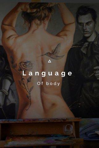 Language Of body