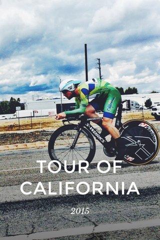 TOUR OF CALIFORNIA 2015
