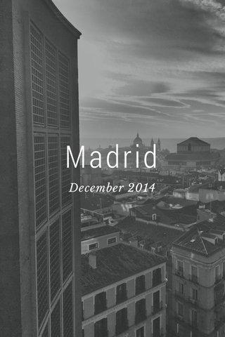 Madrid December 2014