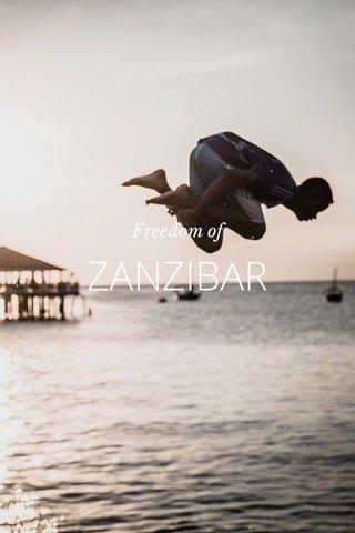 ZANZIBAR Freedom of