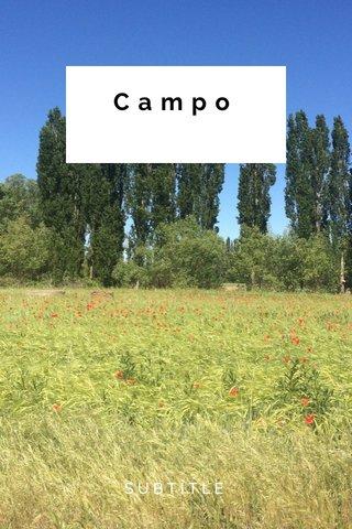 Campo SUBTITLE