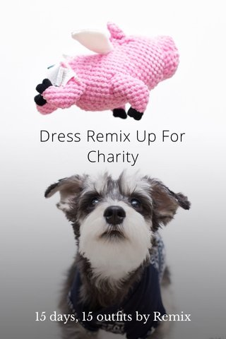 Dress Remix Up For Charity 15 days, 15 outfits by Remix
