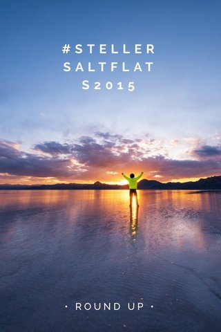 #STELLERSALTFLATS2015 • ROUND UP •