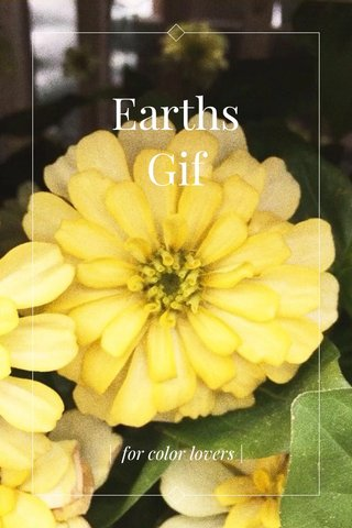 Earths Gif | for color lovers |
