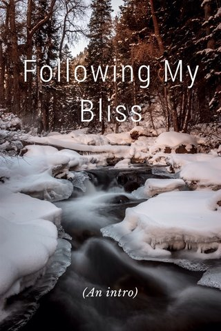 Following My Bliss (An intro)