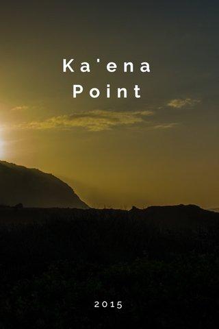 Ka'ena Point 2015