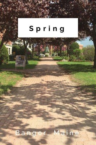 Spring Bangor, Maine