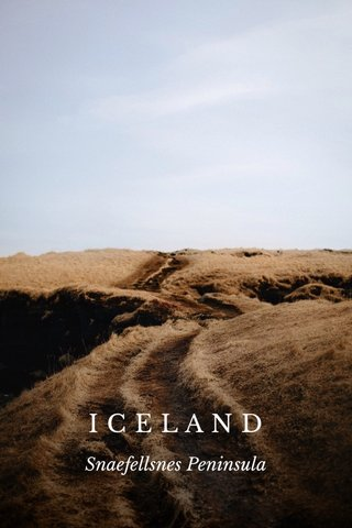 ICELAND Snaefellsnes Peninsula